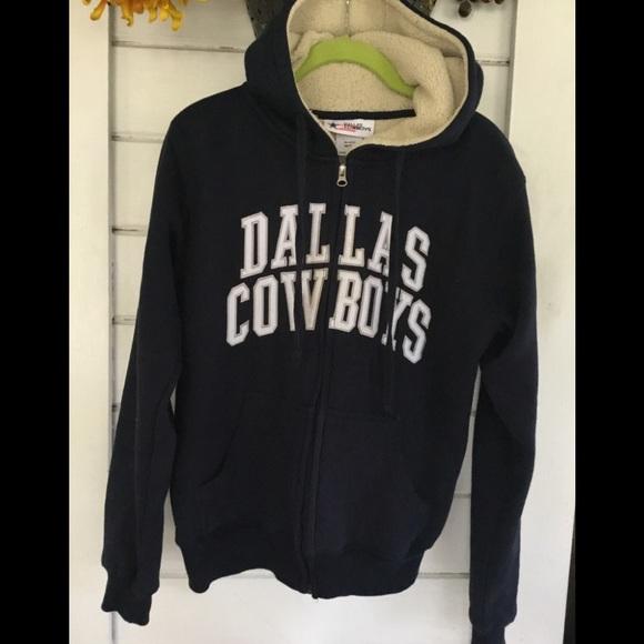 finest selection 0ba59 b776f Dallas Cowboys Fleece Unisex Jacket w/ Hood
